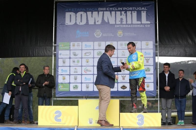 A Iberdrola (na foto David Rivera) dá o prémio ao terceiro classificado da prova.