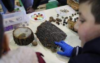 Jovens participaram da formação sobre a fauna e flora